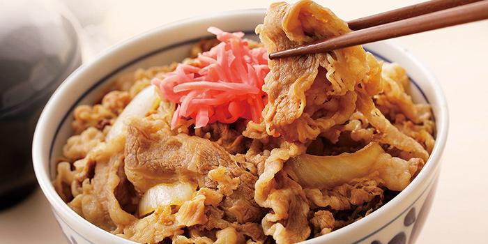 Wagyu Gyu Don from Japan Food Matsuri 2019 at Takashimaya Square in Orchard, Singapore