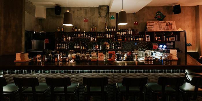 Bar Seating of Cheeky x Jekyll & Hyde in Tanjong Pagar, Singapore