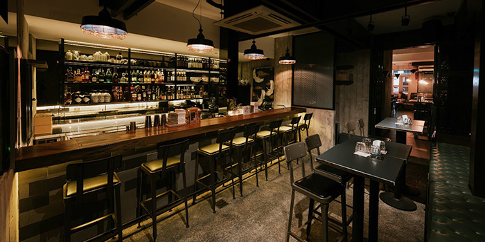 Interior of Jekyll & Hyde in Tanjong Pagar, Singapore