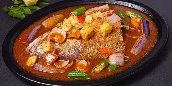 Assam Fish from Lao Hero Kitchen in Seletar, Singapore