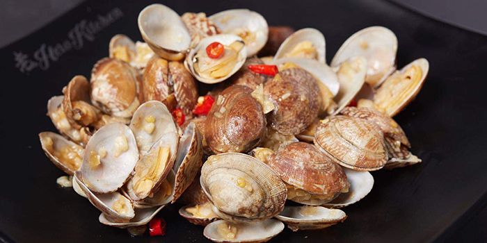 Clams from Lao Hero Kitchen in Seletar, Singapore
