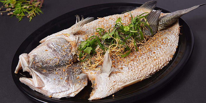Seabass from Lao Hero Kitchen in Seletar, Singapore
