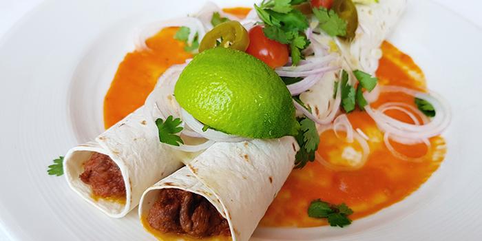 La Enchilada de Carne from Lawry