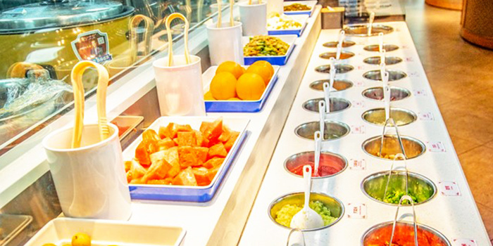 Side Dishes from Little Lamb Hotpot Suntec (小尾羊) at Sky Garden Suntec City Mall in Promenade, Singapore
