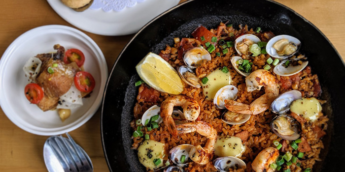Speciality Seafood Paella from Micasa Kitchen & Bar in Jurong, Singapore
