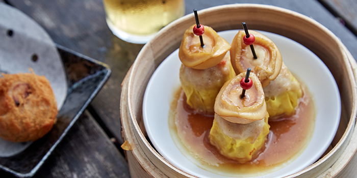 Abalone Siew Mai from Mister Wu (CHIJMES) in CHIJMES, Singapore