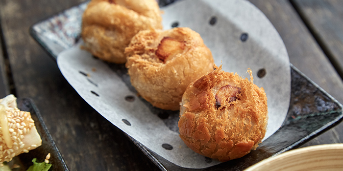 Crispy Golden Prawn Ball from Mister Wu (CHIJMES) in CHIJMES, Singapore