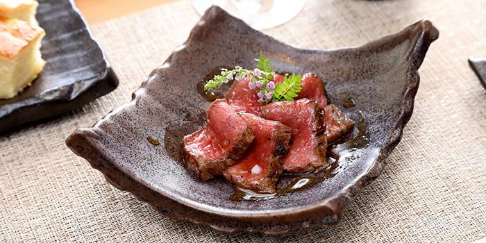 OMI Wagyu Beef Tagliata from Monte Risaia in Duxton, Singapore