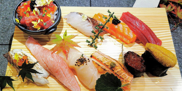 Sushi from Naga Imo in Telok Ayer, Singapore