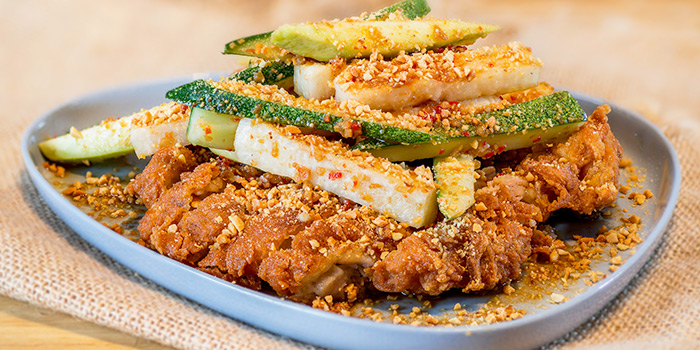 Chicken Rojak from No.3 Crab Delicacy (Teck Chye Terrace) in Serangoon, Singapore