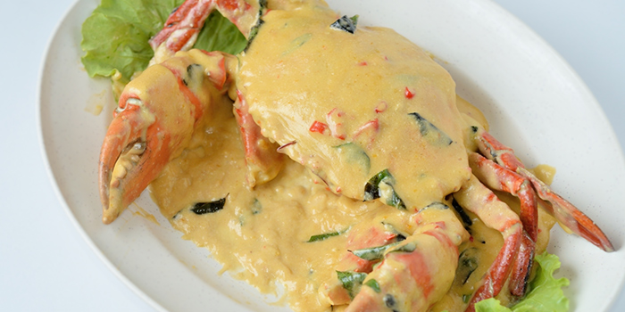 Salted Egg Crab from No.3 Crab Delicacy (Teck Chye Terrace) in Serangoon, Singapore