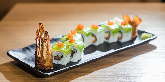 Maki Dragon Roll from Sho Yakitori & Sushi at Millenia Walk in Promenade, Singapore