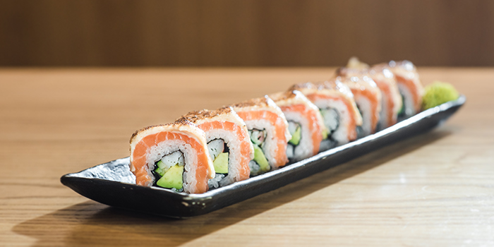 Maki Sake Aburi Mak from Sho Yakitori & Sushi at Millenia Walk in Promenade, Singapore