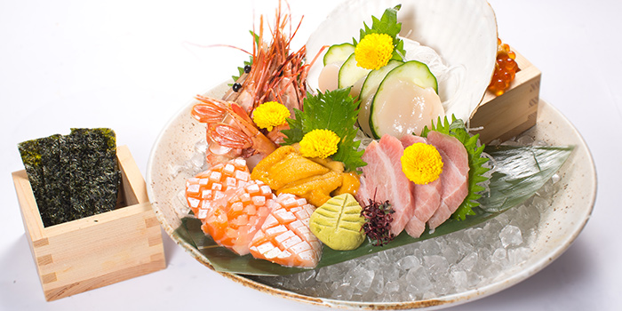 Sashimi from Sho Yakitori & Sushi at Millenia Walk in Promenade, Singapore