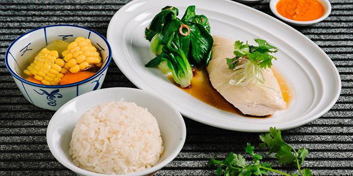 Chicken Rice from Taste Restaurant in Bugis, Singapore