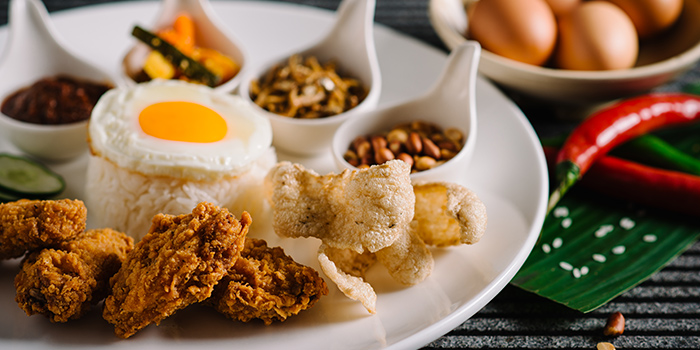 Nasi Lemak from Taste Restaurant in Bugis, Singapore