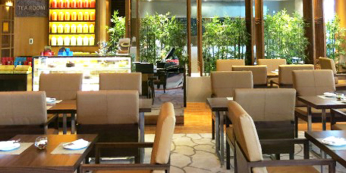 Interior of Tea Room in Tanjong Pagar, Singapore
