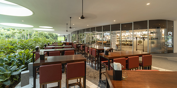 Exterior of The Gong by Drinks&Co. at Duo Galleria in Bugis, Singapore