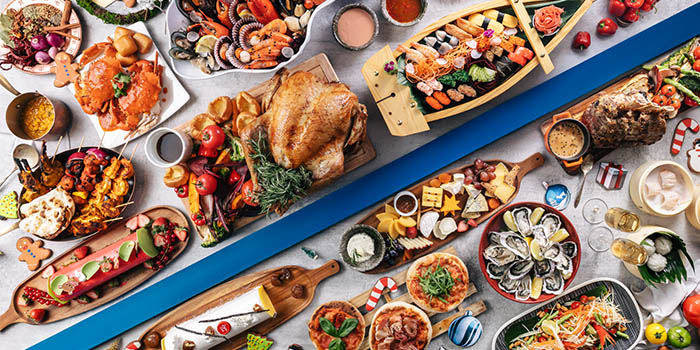 Festive Buffet Spread (1 Nov to 1 Jan) from The Line in Shangri-La Hotel in Orchard, Singapore