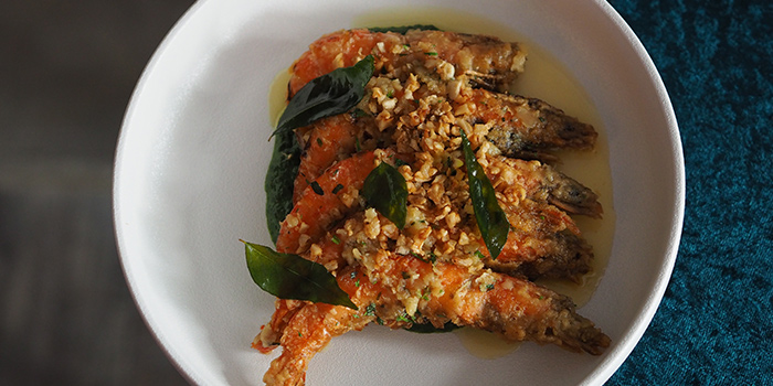 Soft Shell Prawn from The Masses in Bugis, Singapore