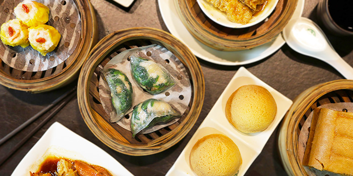 Food Spread from Tim Ho Wan (Jewel) at Jewel Changi Airport in Changi, Singapore