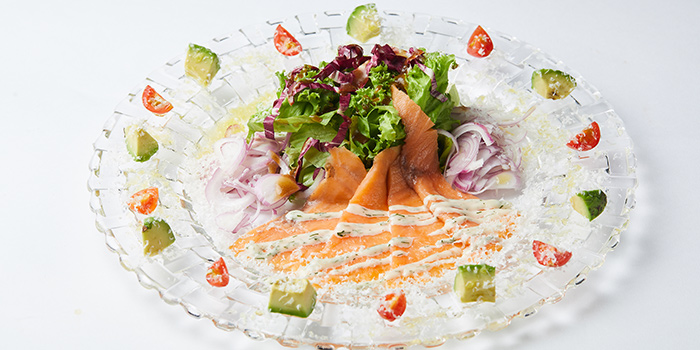 Smoked Salmon & Avocado Salad from Trattoria Pizzeria Logic at Craig Place in Tanjong Pagar, Singapore