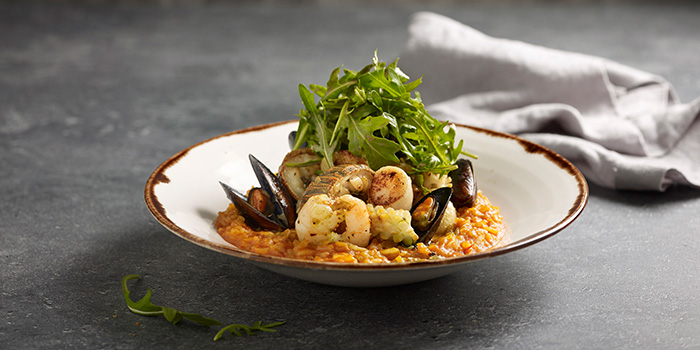 Seafood Risotto from Winestone at Mercure Singapore on Stevens in Tanglin, Singapore