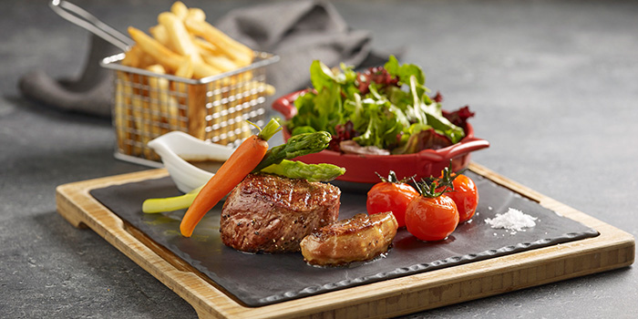 Beef Tenderloin from Winestone at Mercure Singapore on Stevens in Tanglin, Singapore