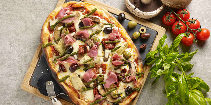 Pellegrino Pizza from Winestone at Mercure Singapore on Stevens in Tanglin, Singapore