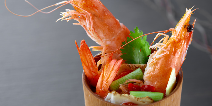 Prawn from Xing Hua Lou (Causeway Point) at Causeway Point in Woodlands, Singapore
