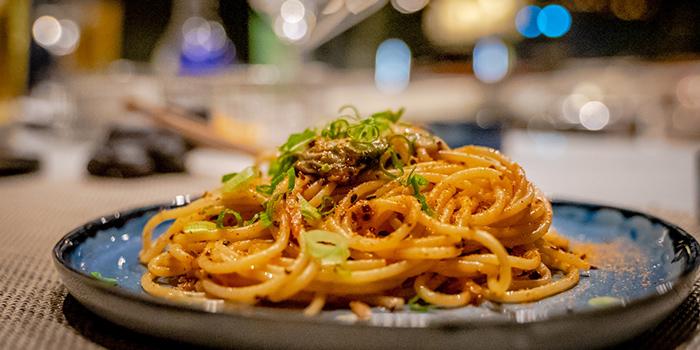 Sakura Ebi Pasta With Shio Konbu Oil from GAKE in Clarke Quay, Singapore