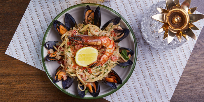 Seafood Linguine, FRITES Belgium on Tap (Kowloon Bay), Kowloon Bay, Hong Kong