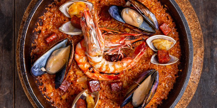 Seafood-Paella from  The Maze Thonglor, Bangkok