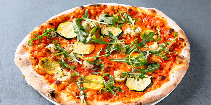 Seafood Pizza, Jamie's Italian, Tsim Sha Tsui, Hong Kong