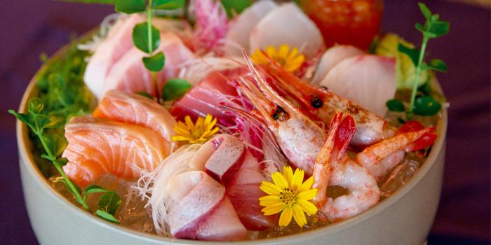 Seafood from Baba Beach Club of Sripanwa in Natai, Phangnga, Thailand
