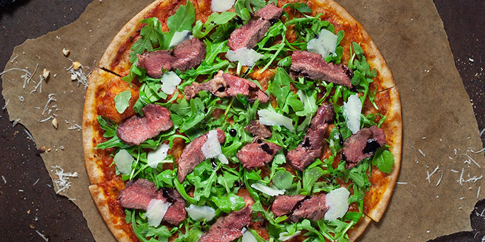 Seared Beef Pizza from Supply & Demand (Esplanade) in Promenade, Singapore