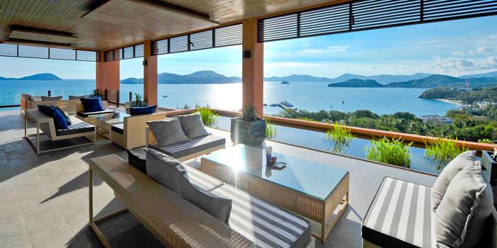 Seating of Baba Nest at Sripanwa Resort & Spa, Panwa Cape, Phuket Thailand
