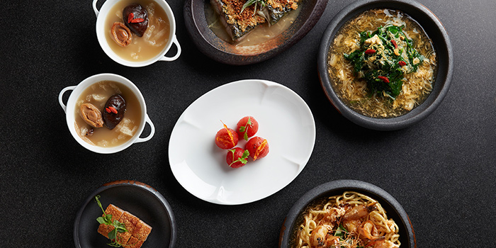 Set Lunch for 2 from Yellow Pot Restaurant and Bar in Duxton, Singapore