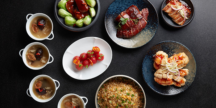 Set Lunch for 4 from Yellow Pot Restaurant and Bar in Duxton, Singapore