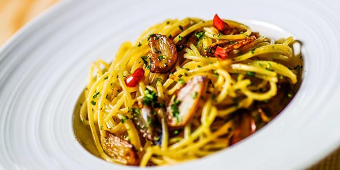 Spaghetti Aglio Olio from Camino House in Bedok, Singapore