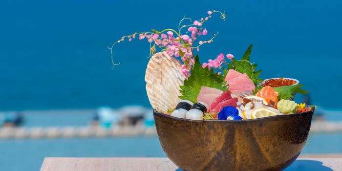 Sushi from Baba Pool Club at Sripanwa Resort & Spa, Panwa Cape, Phuket Thailand