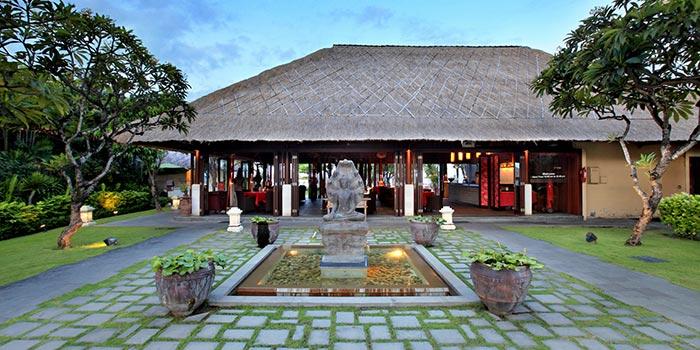 TAO Entrance at The TAO Bali