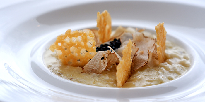 Alba Truffles Risotto (15 Oct to 3 Nov) from The Lighthouse in Fullerton, Singapore