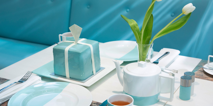 The Tiffany Blue Box Cake, The Tiffany Blue Box Cafe, Tsim Sha Tsui, Hong Kong