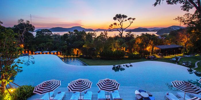 View of Baba Chino at Sripanwa Resort & Spa, Panwa Cape, Phuket Thailand