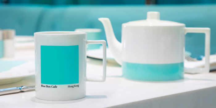Tableware, The Tiffany Blue Box Cafe, Tsim Sha Tsui, Hong Kong