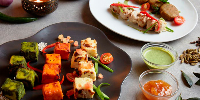 Vegetarian Kebab from Tandoor in Holiday Inn Singapore Orchard City Centre in Orchard, Singapore