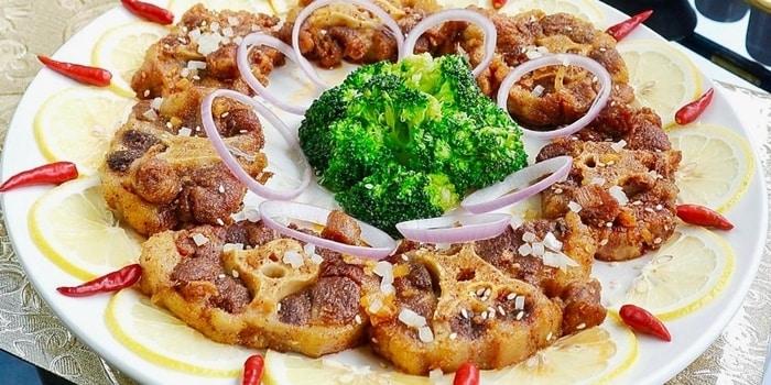 Dish 1 at Royal Silk Road