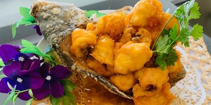 Dish 4 at Royal Silk Road