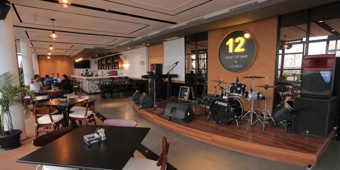 Interior 2 at 12 Degrees Rooftop Bar & Lounge, Gading Serpong